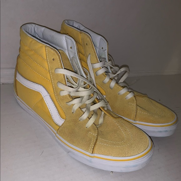 Vans Shoes | Yellow Suede Size 105